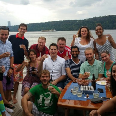 Executive Touch Worldwide boat trip