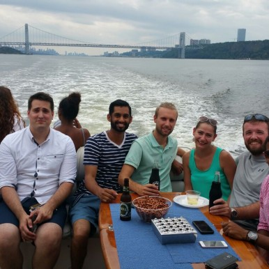 Executive Touch Worldwide boat trip in New York