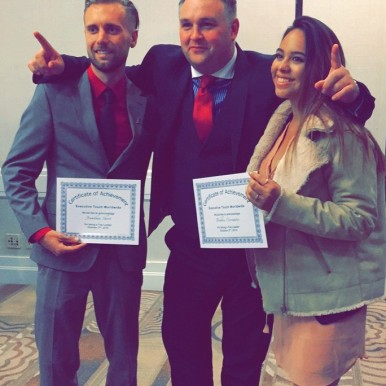 Executive Touch Worldwide reward top achievers
