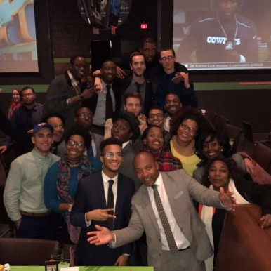 Executive Touch Worldwide team night