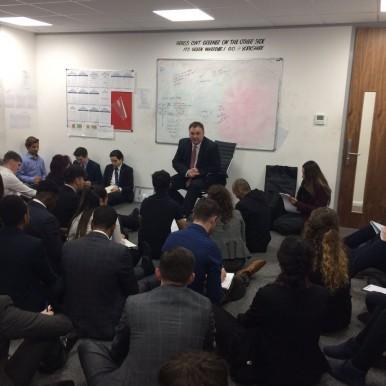 Executive Touch Worldwide motivational meeting